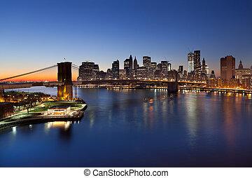 ニューヨーク, city.