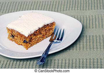 ニンジン, フォーク, ケーキ