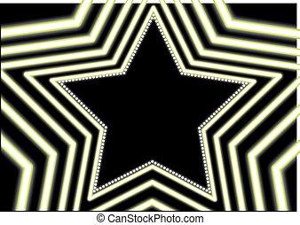 ネオン, 星, 背景