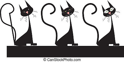 ネコ, 黒