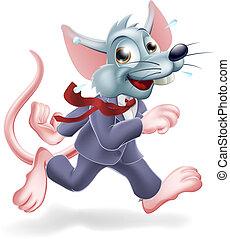 ネズミ, 概念, ビジネス, レース