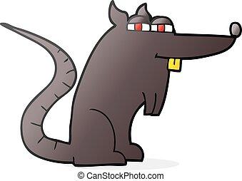 ネズミ, 漫画, 悪