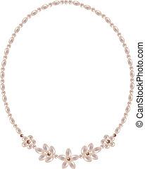 ネックレス, 真珠