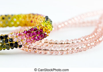 ネックレス, 腕輪, ダイヤモンド