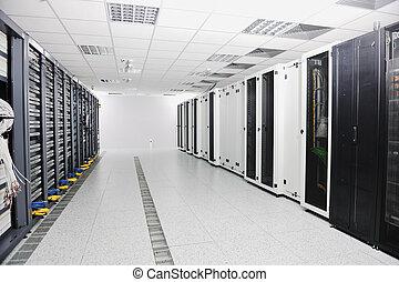 ネットワークサーバー, 部屋