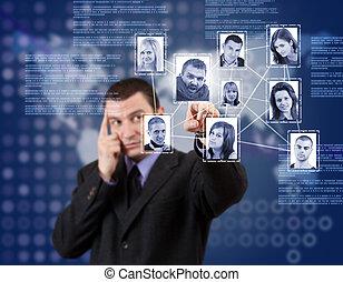 ネットワーク, 構造, 社会