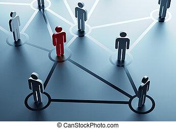 ネットワーク, 社会