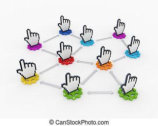 ネットワーク, concept.