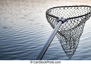 ネット釣り