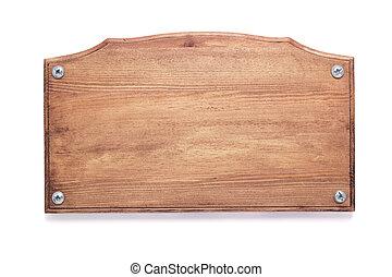ネームプレート, ∥あるいは∥, 壁, 木製である, 印