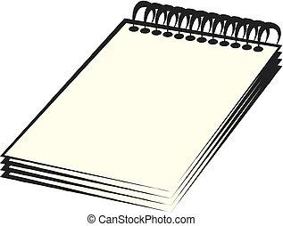 ノート, らせん状に動きなさい