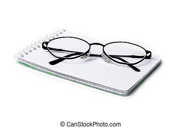 ノート, ガラス