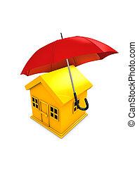 ハウジング, 傘