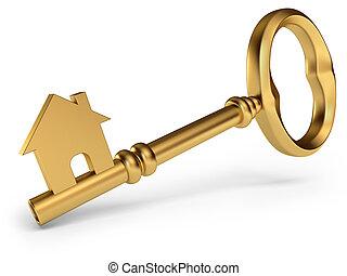 ハウスのキー