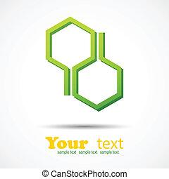 ハチの巣, デザイン, 背景, 要素