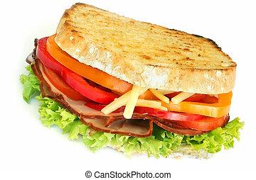 ハム, サンドイッチ