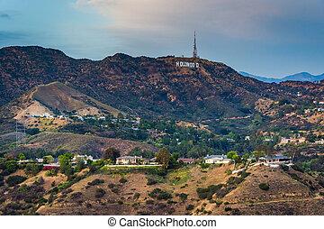 ハリウッドの印, 光景, 見晴らし場, ボール