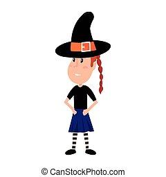 ハロウィーン, 女の子, 特徴, 衣装