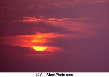 ハロウィーン, 日没, ∥あるいは∥, 日の出, 背景