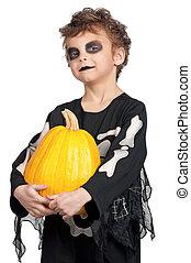 ハロウィーン, 衣装, 子供