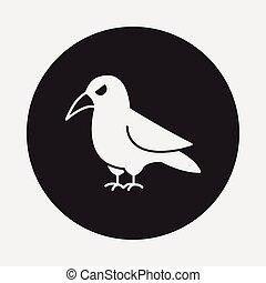 ハロウィーン, 鳥, アイコン