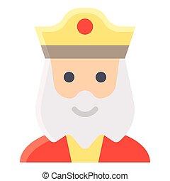 ハロウィーン, avatar, 衣装, ベクトル, イラスト, 皇帝