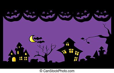 ハロウィーン, night.