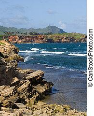 ハワイ, kauai, 海岸線