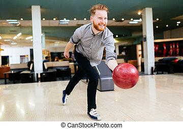 ハンサム, 男ボウリング
