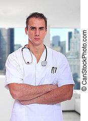 ハンサム, 男性の医者