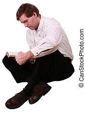 ハンサム, 聖書, 読書, 人