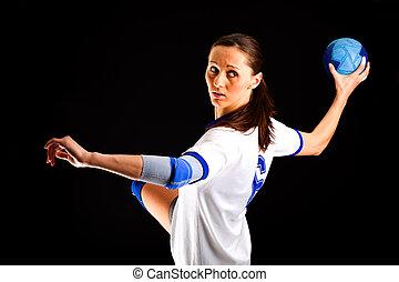 ハンドボール, 女の子