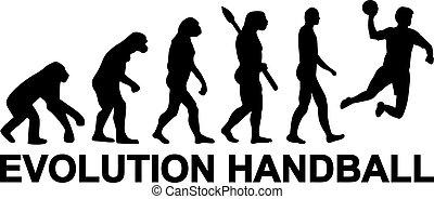 ハンドボール, 進化