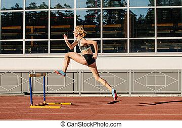 ハードル, 操業, 運動選手, メートル, 女性, 400
