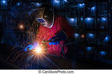 ハードワーク, 労働者