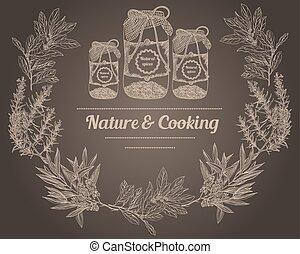ハーブ, 料理, スパイス