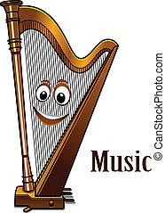 ハープ, 概念, 音楽, 幸せ