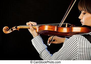 バイオリン奏者, プロフィール