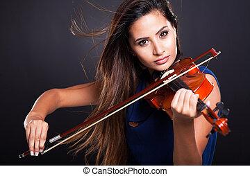 バイオリン奏者, 専門家