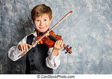 バイオリン奏者, 幸せ