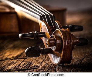 バイオリン, スタイル, 型