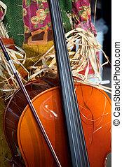 バイオリン, ハロウィーン, 感謝祭, チェロ