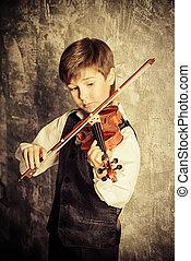 バイオリン, 遊び