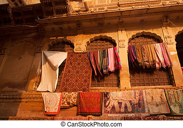 バザー,  Jaisalmer, 城砦