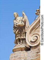 バシリカ, fontana., italy., rosario., puglia., ss., francavilla