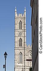 バシリカ, notre 貴婦人, タワー, モントリオール