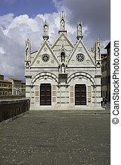 バシリカ, santa, フィレンツェ, 美しい, croce