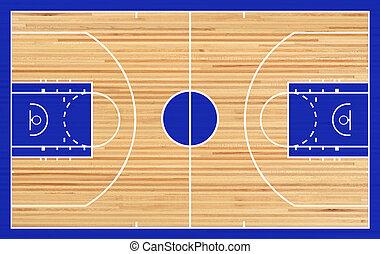 バスケットボールコート