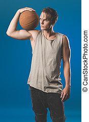 バスケットボールボール, 人