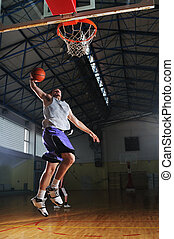 バスケットボール, ゲーム, プレーヤー, ∥において∥, スポーツ, ホール